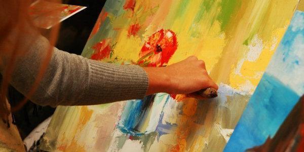 мастер класс приуроченный   живописи маслом