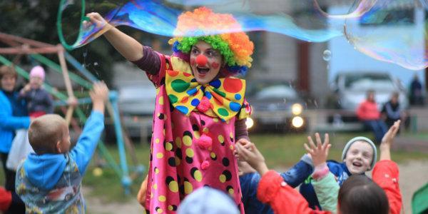 организация красочного шоу для детей