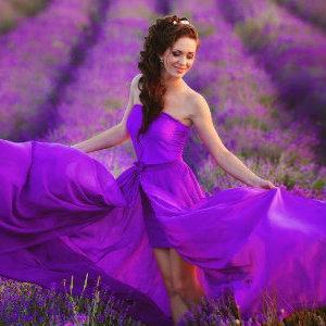 Что нужно знать молодоженам при оформлении свадебной вечеринки в фиолетовых тонах