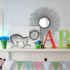 Узнайте как эффектно украсить комнату ребенка в канун дня рожденья