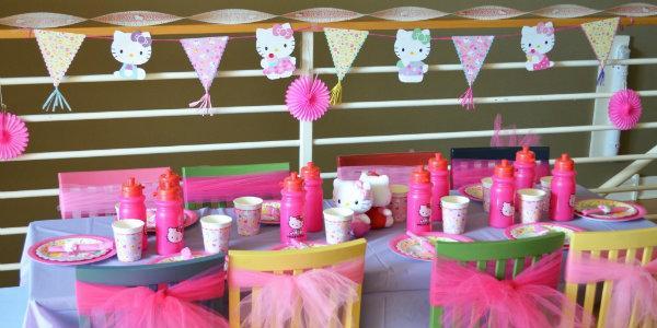 детского праздника выбираем  украшения,  декорируем  зал