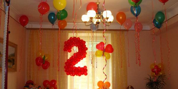 как эффектно украсить комнату ребенка в канун дня рожденья