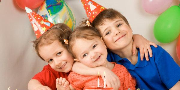 празднование  го  дня рождения ребенка