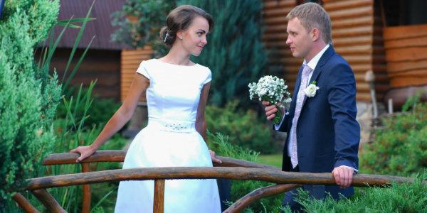 празднование второго дня свадьбы  на природе