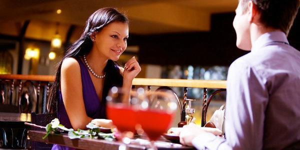 ужин с  любимым в ресторане