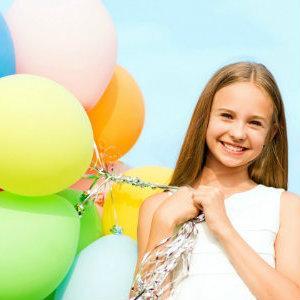 Воздушные шары лучшее украшение для дня рождения