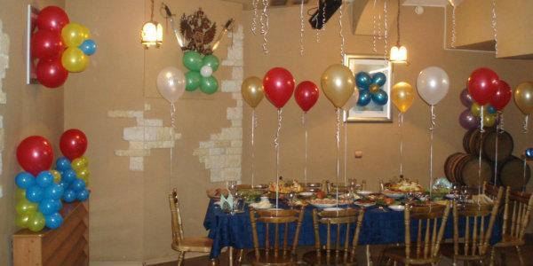 шары лучшее  украшение для дня рождения