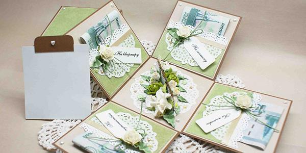 Как завернуть деньги в подарок на свадьбу