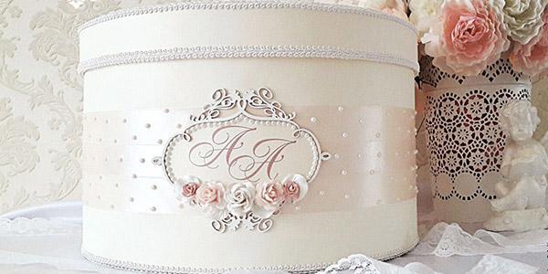 Свадебная коробка матрешка с деньгами