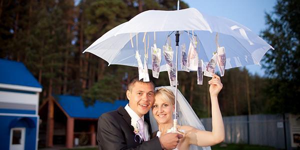Изображение - Оригинальные подарки на свадьбу поздравления Zont-s-dengami