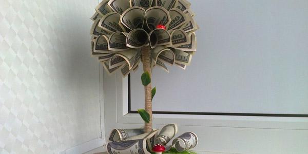 Изображение - Оригинальные подарки на свадьбу поздравления kak-originalno-podarit-dengi-na-novyj-god4